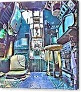 Flight Deck Acrylic Print
