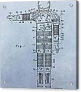 Flight Suit Patent Acrylic Print