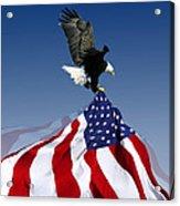 Flight To Freedom Acrylic Print