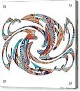 Flippin Fancy 1 Acrylic Print