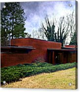 Fllw Rosenbaum Usonian House - 1 Acrylic Print