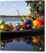 Float Boat Acrylic Print