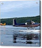 Float Planes On Keuka Acrylic Print