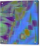 Floating Blocks Acrylic Print