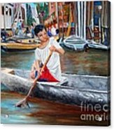 Floating City Of Belen Acrylic Print