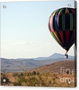 Floating Down The Hill Acrylic Print