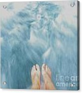 Floating Feet Acrylic Print