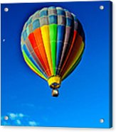 Floating Free In A Hot Air  Balloon Acrylic Print