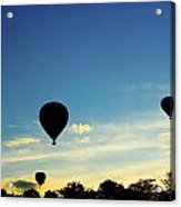 Floating In The Air At Sundown Acrylic Print