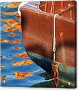 Floating On Blue 11 Acrylic Print