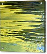 Floating On Blue 27 Acrylic Print