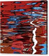 Floating On Blue 28 Acrylic Print