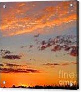 Floating Sunset Acrylic Print