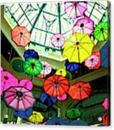 Floating Umbrellas In Las Vegas  Acrylic Print