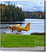 Floatplane In Fall Acrylic Print