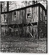 Flood House In Mississippi Delta Acrylic Print