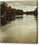 Flood Waters Milwaukee River 2013 Acrylic Print