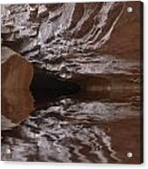flooded Ohio cave Acrylic Print