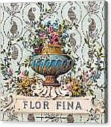 Flor Fina Acrylic Print