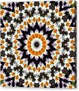Flora Kaleidoscope Acrylic Print