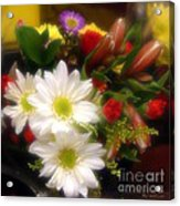 Flora Radiant Acrylic Print