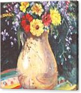 Floral 15 Acrylic Print