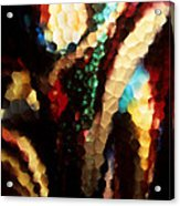 Floral Abstract I Acrylic Print