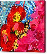 Floral Abstract Part 1 Acrylic Print