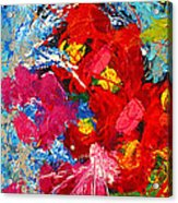 Floral Abstract Part 3 Acrylic Print