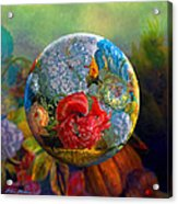 Floral Ambrosia Acrylic Print