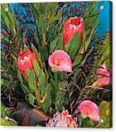 Floral Arrangement Acrylic Print