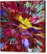 Floral Art Xxiv Acrylic Print