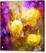 Floral Art Xxxxv Acrylic Print