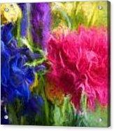 Floral Art Xxxxvi Acrylic Print