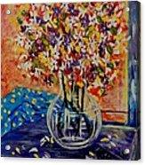 Floral Bliss Acrylic Print