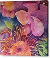 Floral Bouquet Acrylic Print