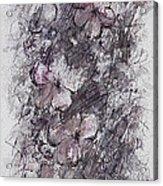 floral cascade II Acrylic Print