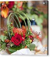 Floral Centerpiece Acrylic Print