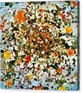 Floral Chaos Acrylic Print