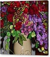 Floral Decor Acrylic Print