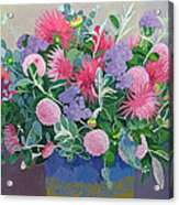 Floral Display Acrylic Print