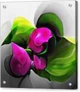 Floral Expression 111213 Acrylic Print