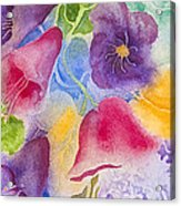 Floral Glory Dos Acrylic Print