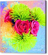 Floral Glow Acrylic Print