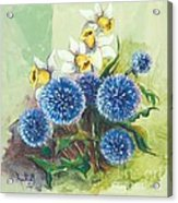 Floral II Acrylic Print