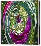 Floral Illusion 1 Acrylic Print