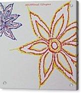 Floral Joy  Acrylic Print