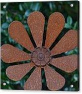 Floral Metal Art Acrylic Print