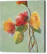 Floral Painting Acrylic Print