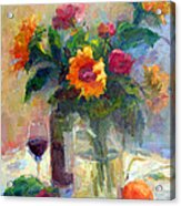 Floral Paintings Fp18 Acrylic Print